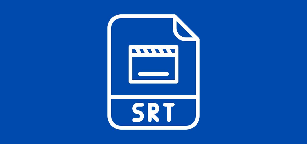 SRT-fil for å tekste film på Facebook