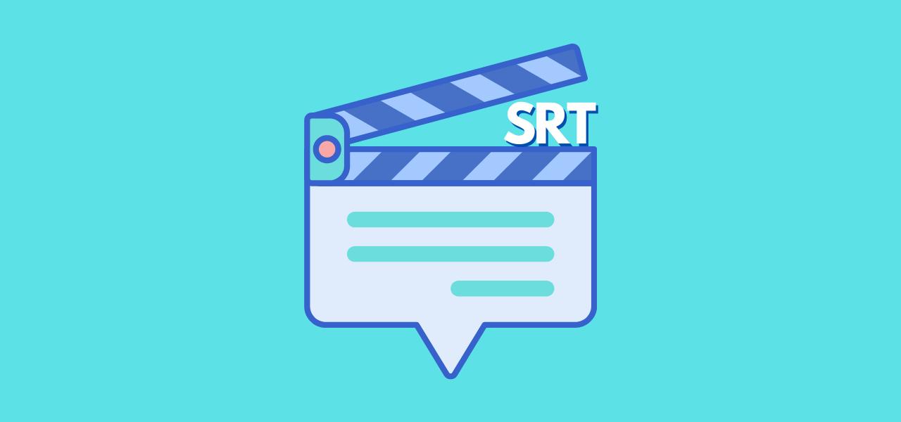 Underteksten vises i form av SRT