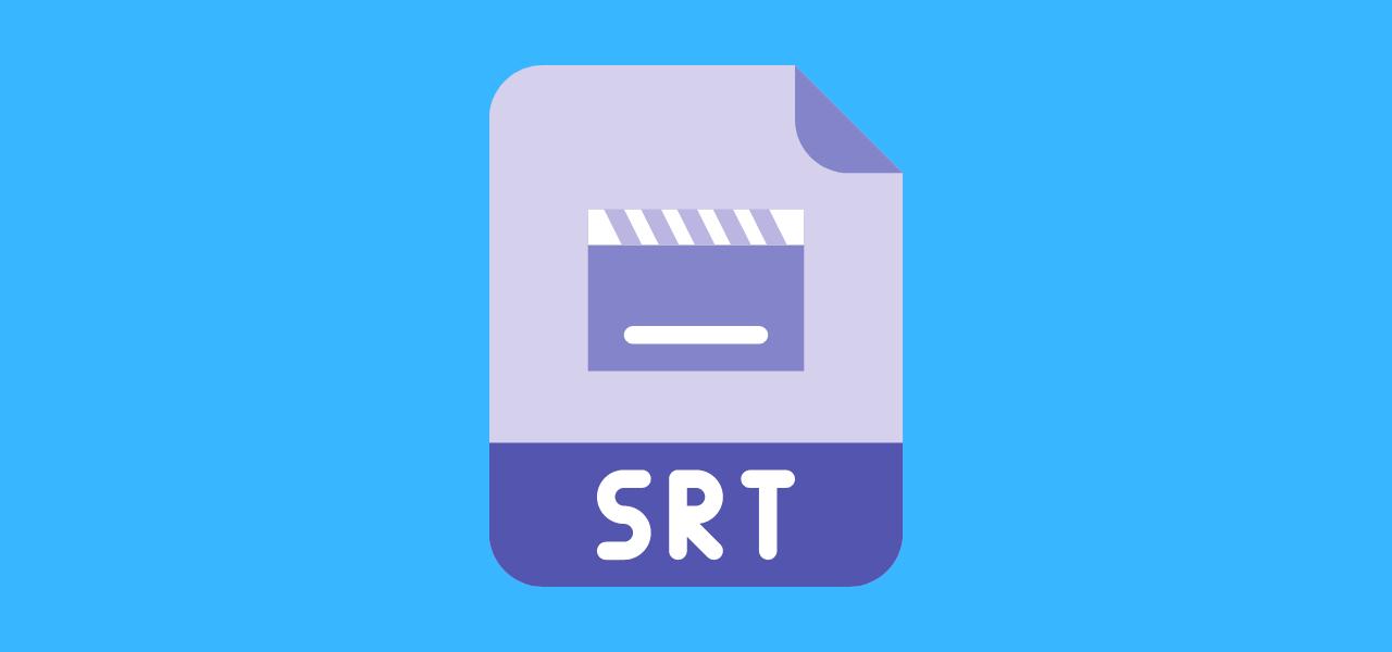 SRT-fil for teksting av video på YouTube