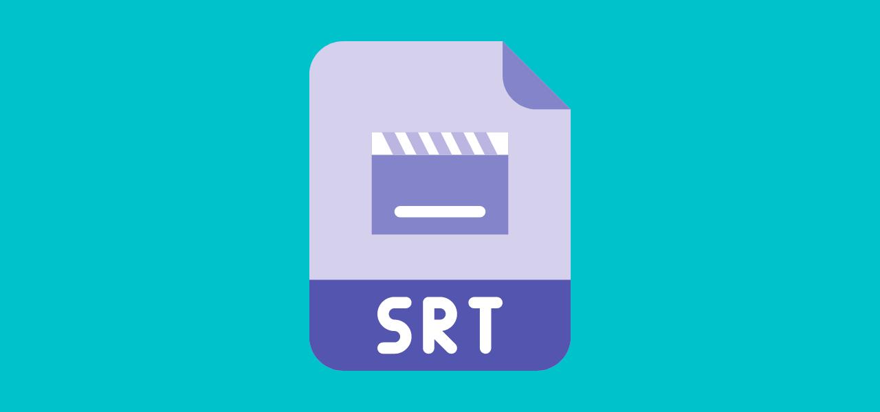 SRT-fil for teksting av video