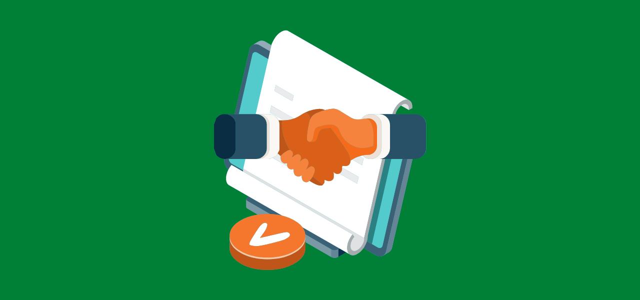 Kunde og skribent inngår avtale om audiovisuelle tekster